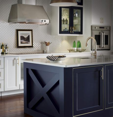 Nautical Kitchen Island